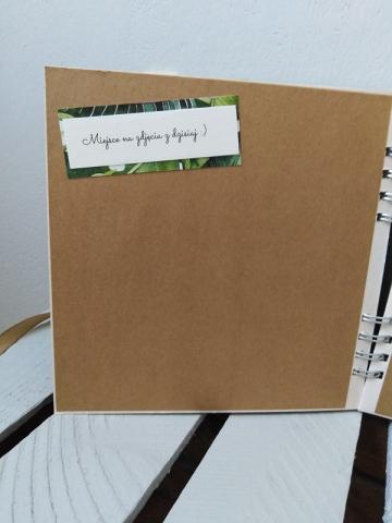 ręcznie robiony album na zdjęcia z wieczoru panieńskiego