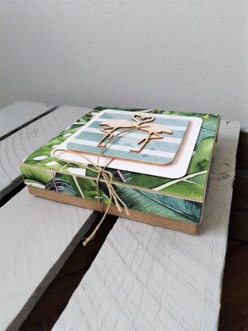 wyjątkowa oryginalna ręcznie robiona kartka na ślub