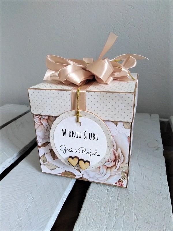 kartka na ślub typu exploding box rzeszów krosno podkarpacie okolice